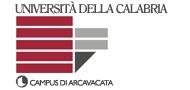 Dipartimento di Ingegneria Meccanica - Universita' della Calabria