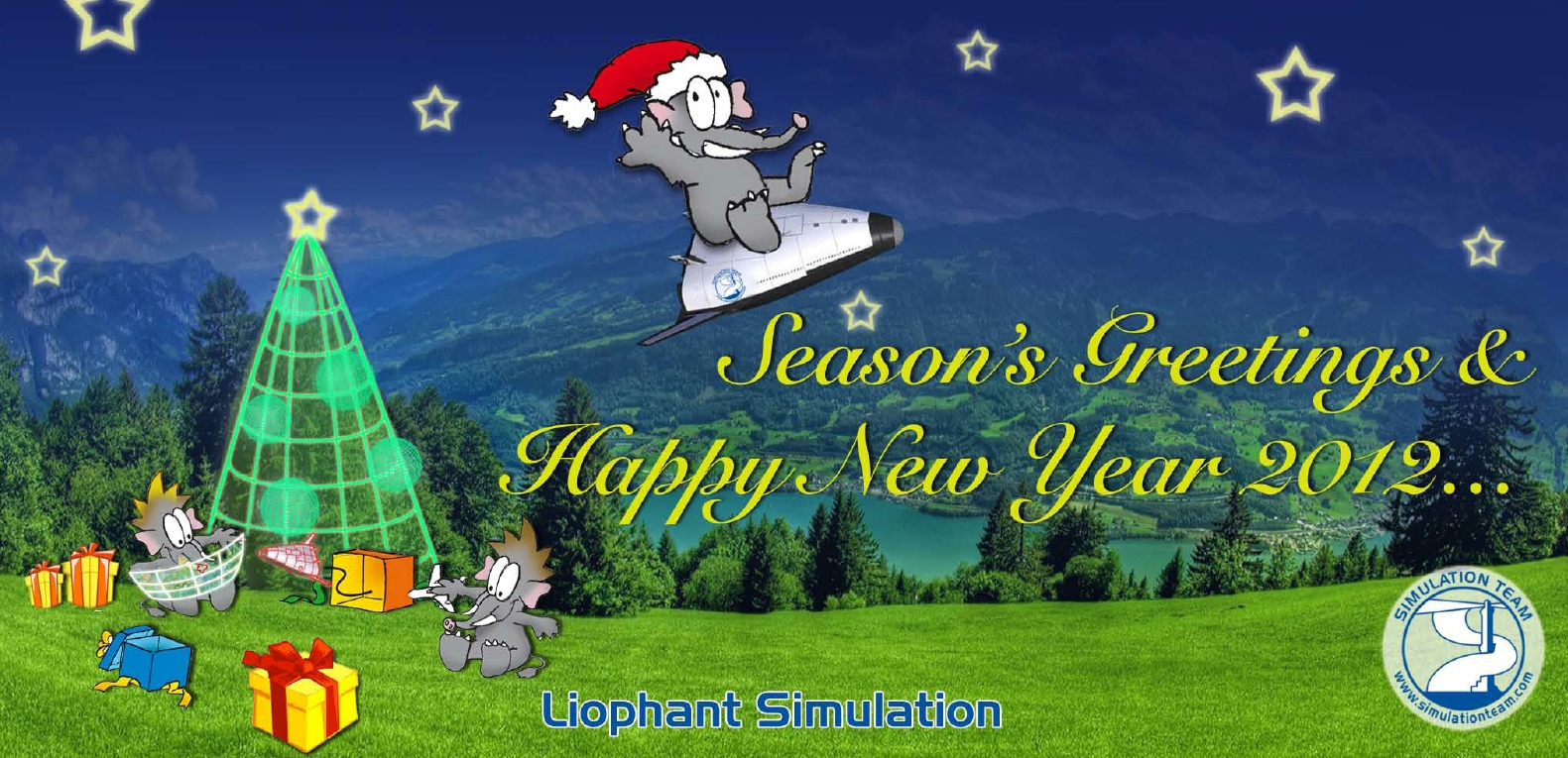 Liophant & Simulation Team Season's Greetings